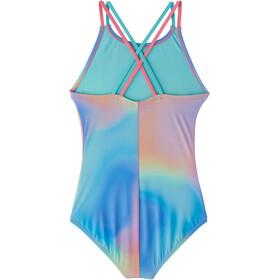 Nike Swim Spectrum Traje Baño Una Pieza Espalda Araña Niñas, multi
